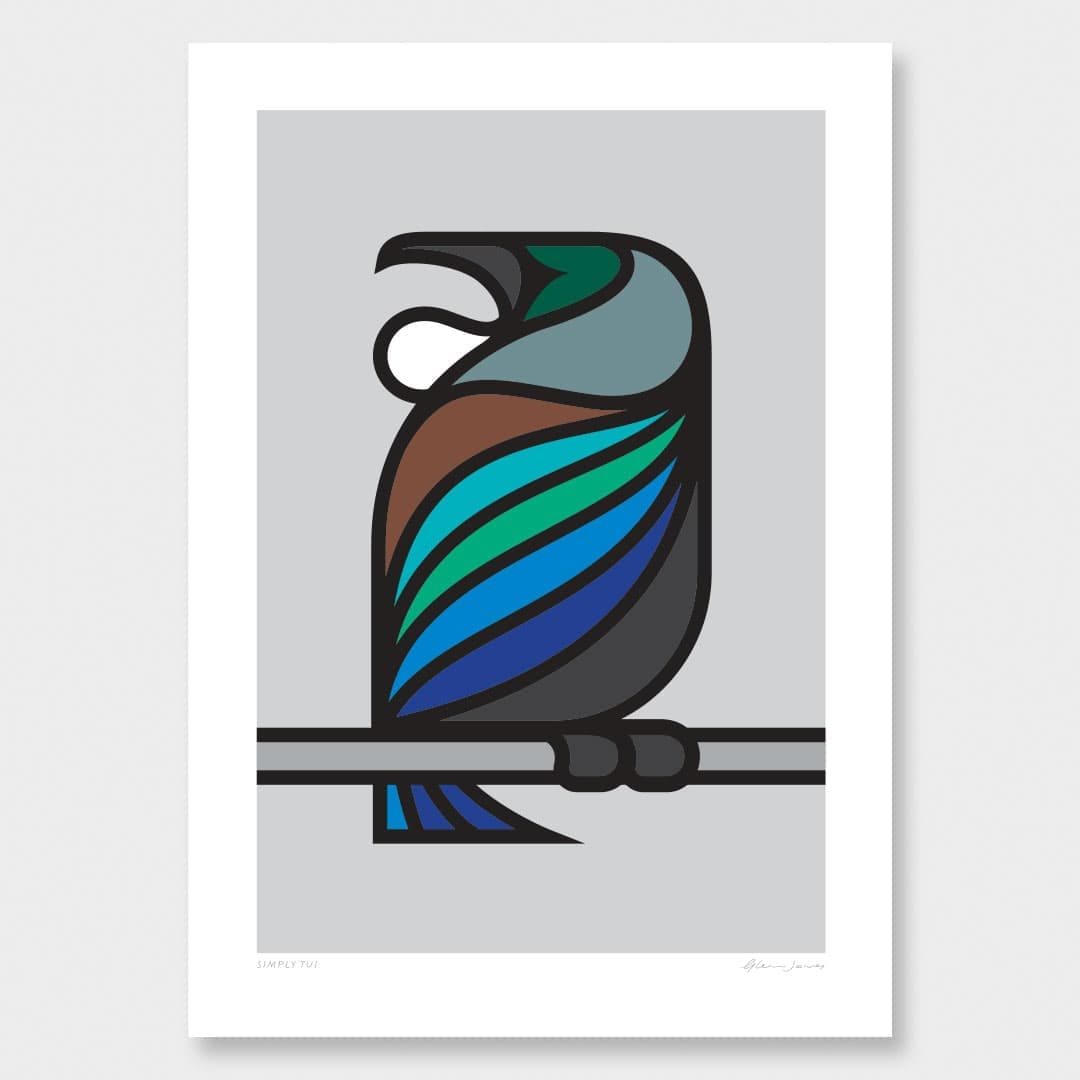 Simply Tui Art Print by Glenn Jones