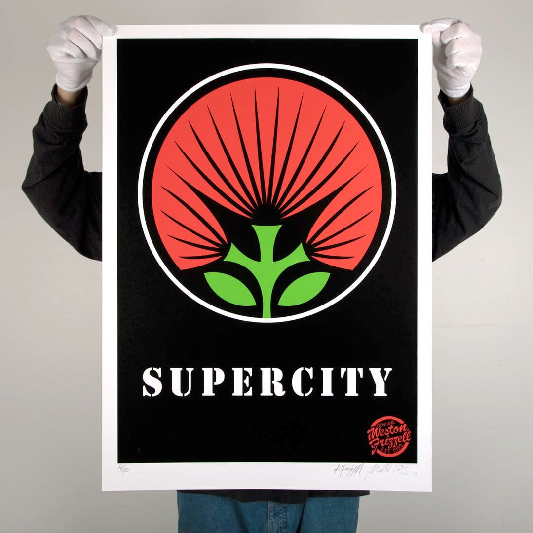 Supercity Screen-Print by Weston Frizzell