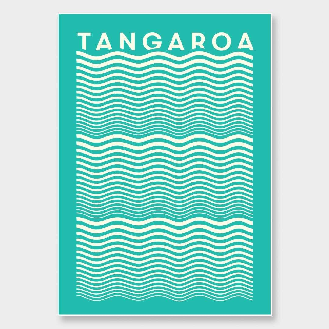 Tangaroa Green Art Print by OSLO