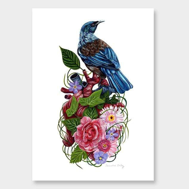 The Guardian II Art Print by Emmaline Bailey