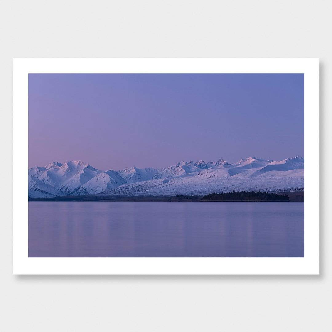 Transient Light - Tekapo Photographic Print by Mike Mackinven