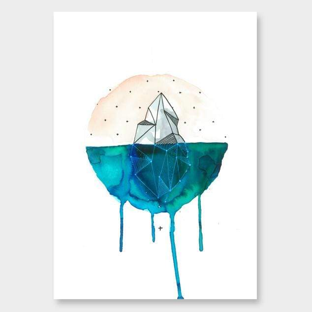 Understated Art Print by Makus Art