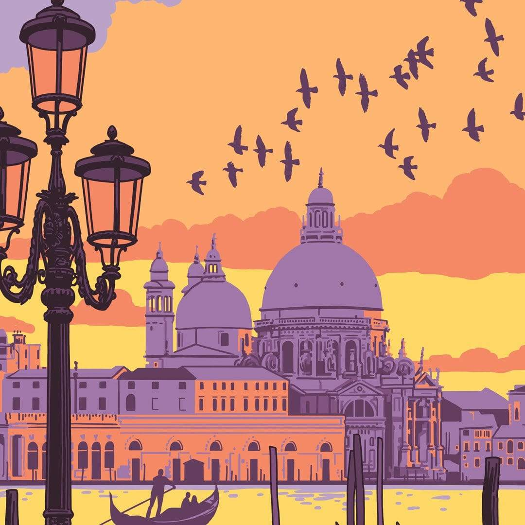 Venice Art Print by Ross Murray