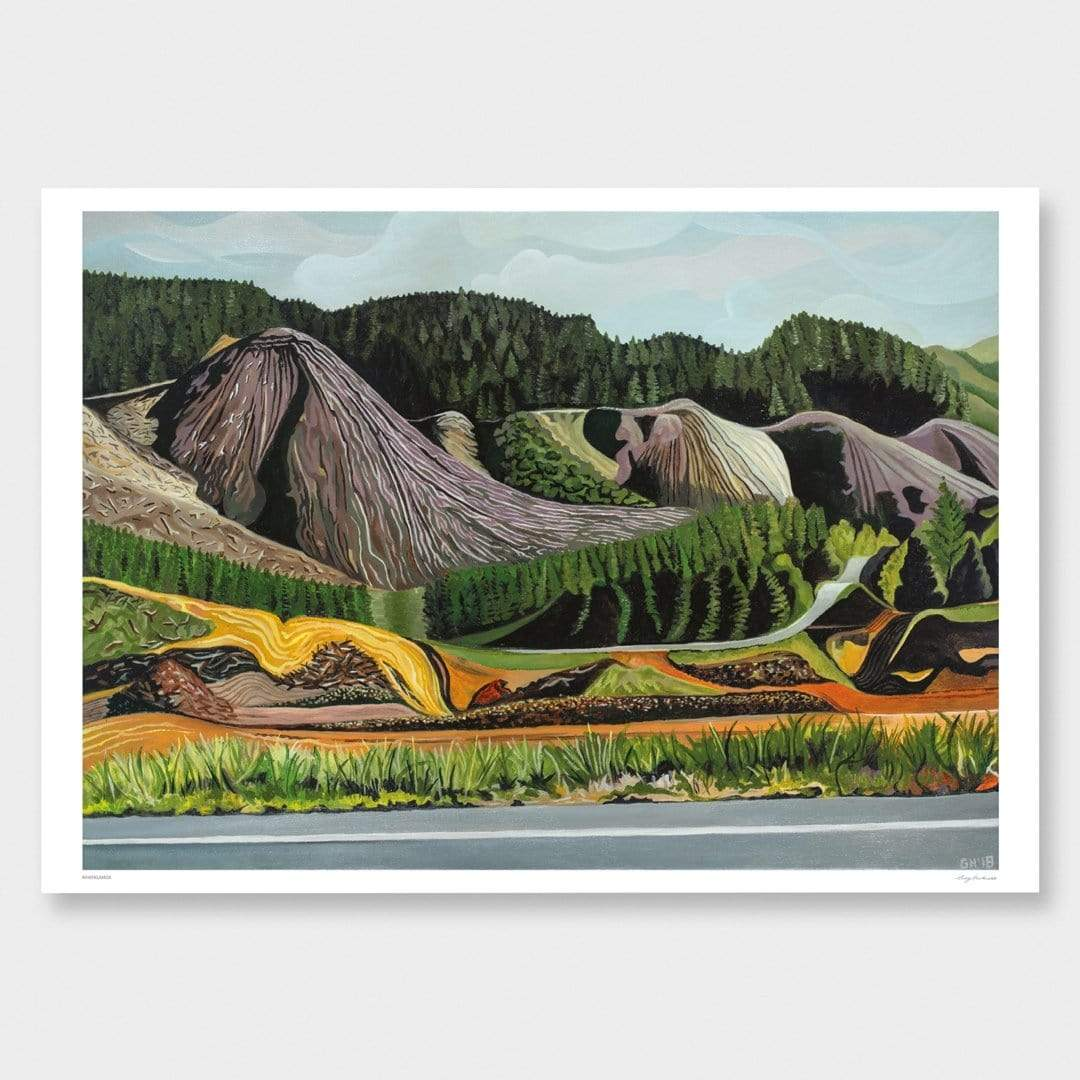 Whangamoa Art Print by Guy Harkness