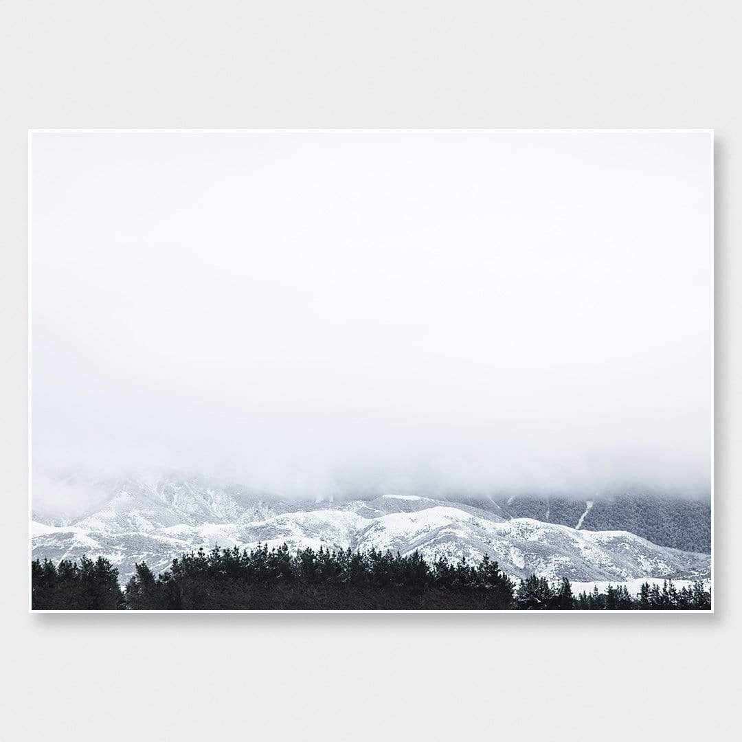 White Hukarere Photographic Art Print by Elliot Alexander