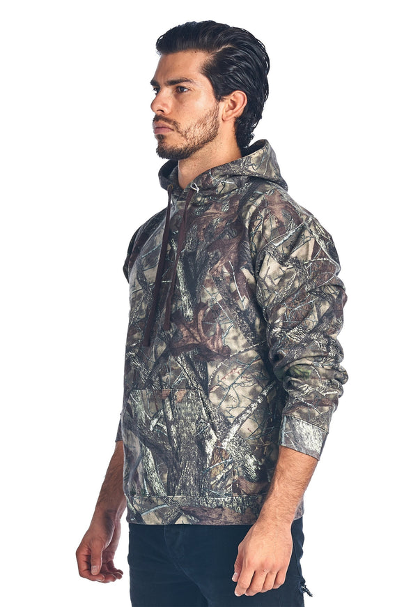 Camo Hunting Hoodie Sweatshirt Sizes S-5XL Camouflage Authentic True - Bucket Social