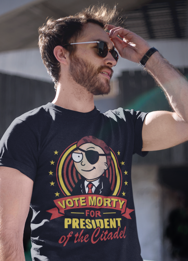Vote Morty T-shirt