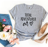 Total Adventurer At Heart Travel Women's T-Shirt - Bucket Social