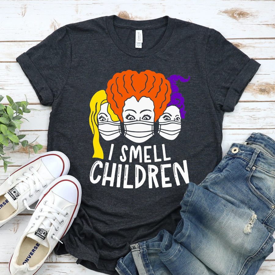 I Smell Children Halloween Hocus Pocus T-shirt