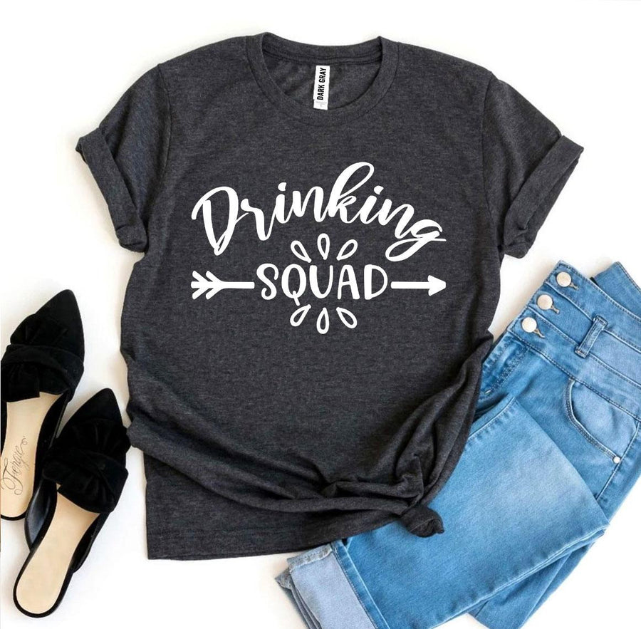 Drinking Squad Friends Night Out Women's T-Shirt - Bucket Social