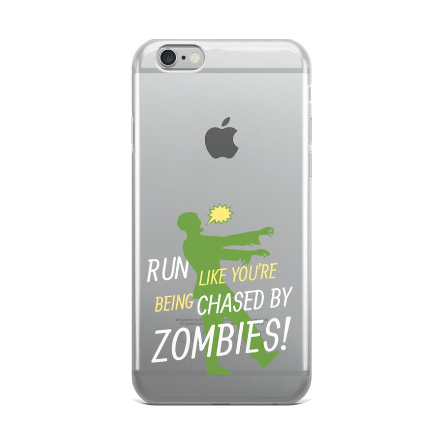 Run Like A Zombie Is Chasing You IPhone Case - Bucket Social