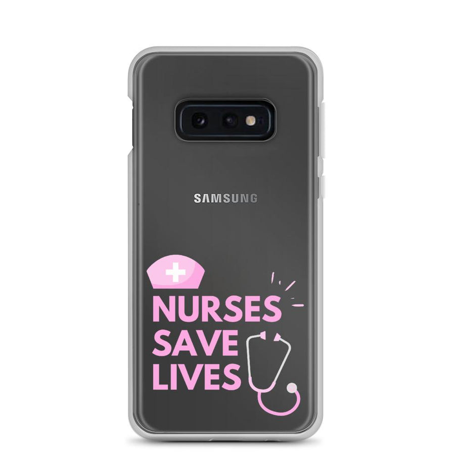 Nurses Saves Lives Samsung Galaxy Case - Bucket Social