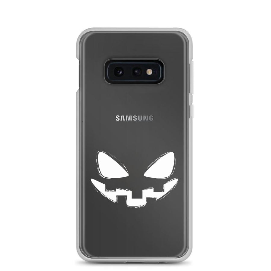 Pumpkin Face Samsung Galaxy Phone Case - Bucket Social
