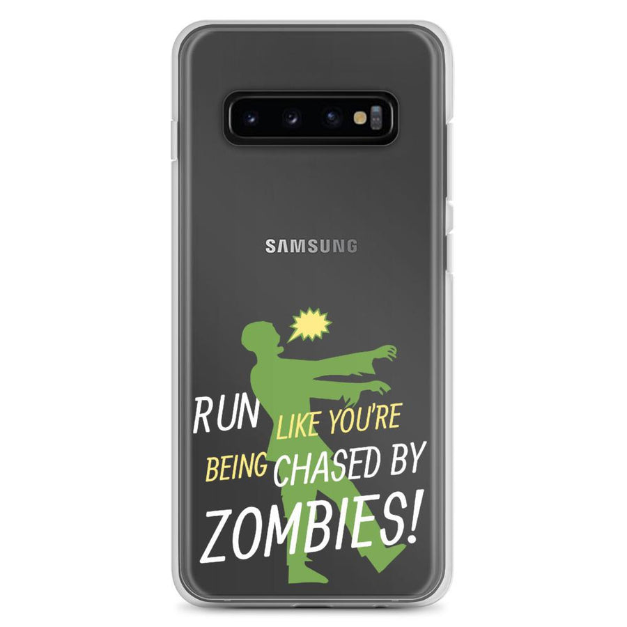 Run Like A Zombie Is Chasing You Samsung Galaxy Phone Case - Bucket Social