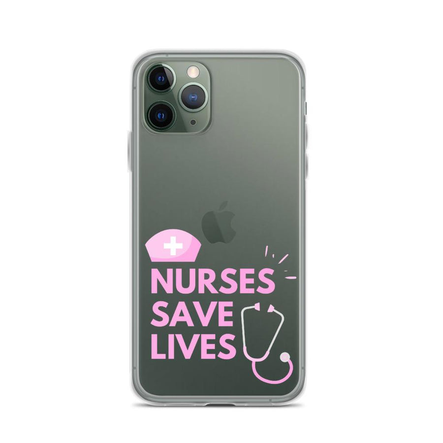 Nurses Saves Lives IPhone Case - Bucket Social
