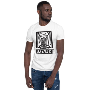 MATAPIHI Unisex T-Shirt (black on white)