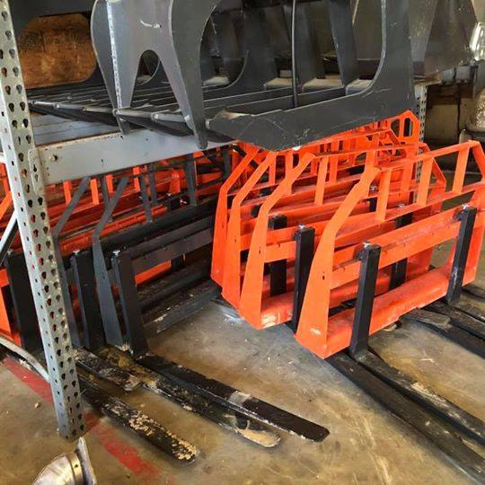 Skid Steer Attachments | Light Duty Forks