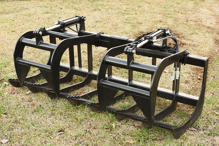 Skid Steer Attachments | Root Grapple Bucket Attachments