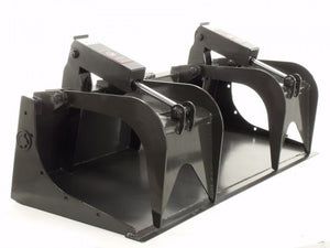 Skid Steer Attachments | Solid Bottom Grapple