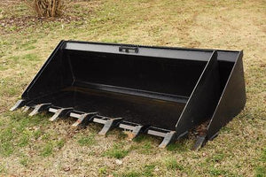Skid Steer Attachment | Tooth Bucket