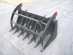 Skid Steer Attachment | SD Root Rake Grapple