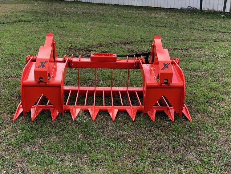 Skid Steer Attachments | Root Rake Grapple