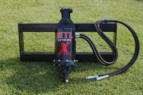 Skid Steer Auger post hole digger drive unit