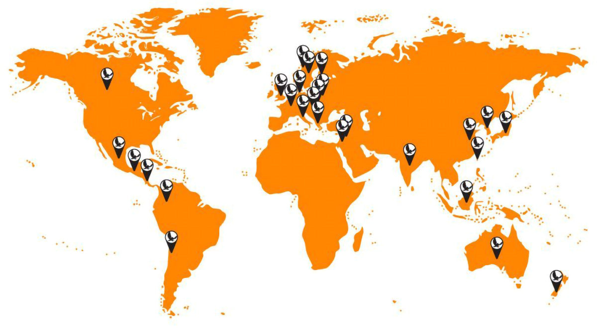 Eno does not ship internationally - but we have more than 10 distributors across the world - Find yours