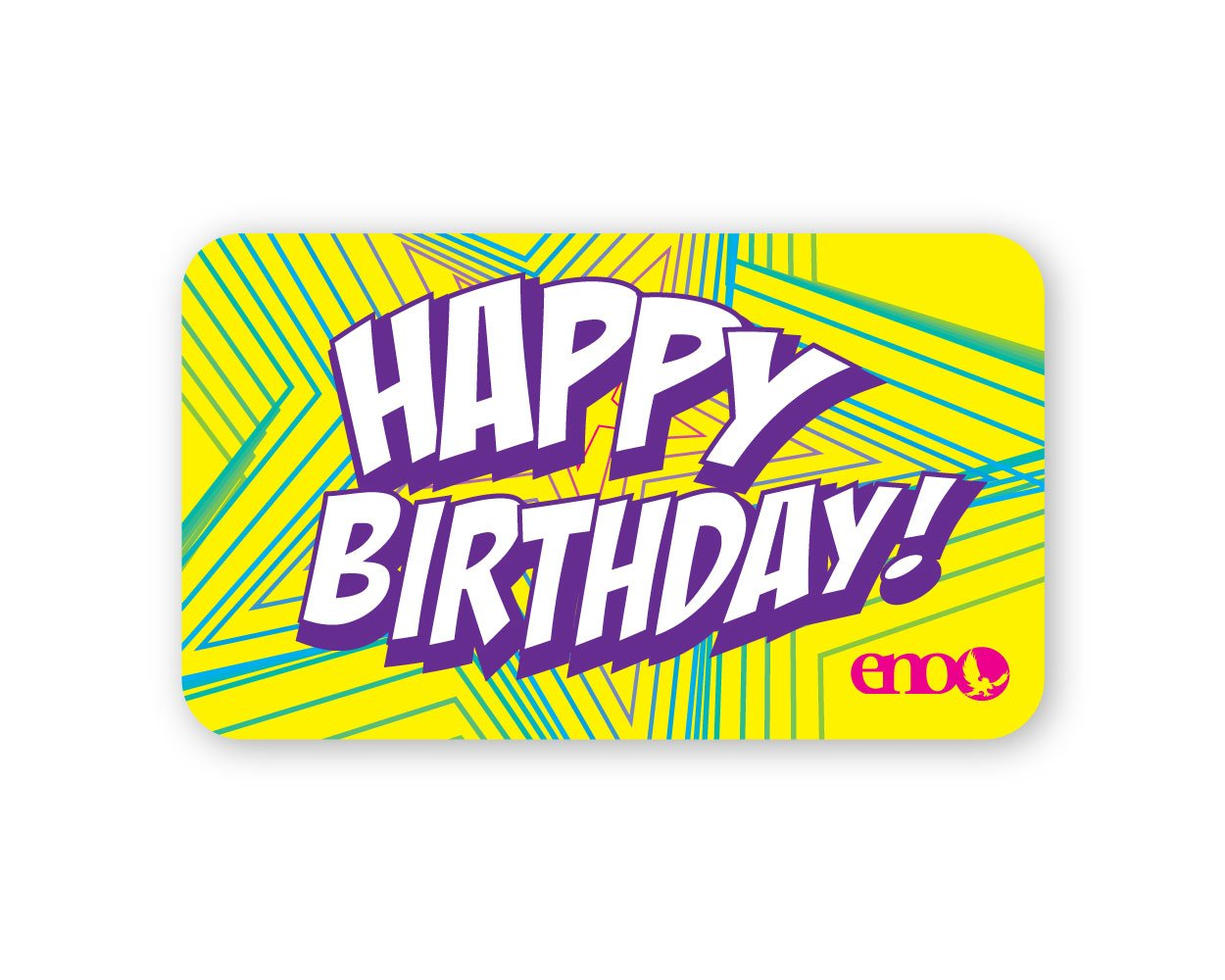 ENO Nation $25.00 / Happy Birthday Gift Card - 17359640101013