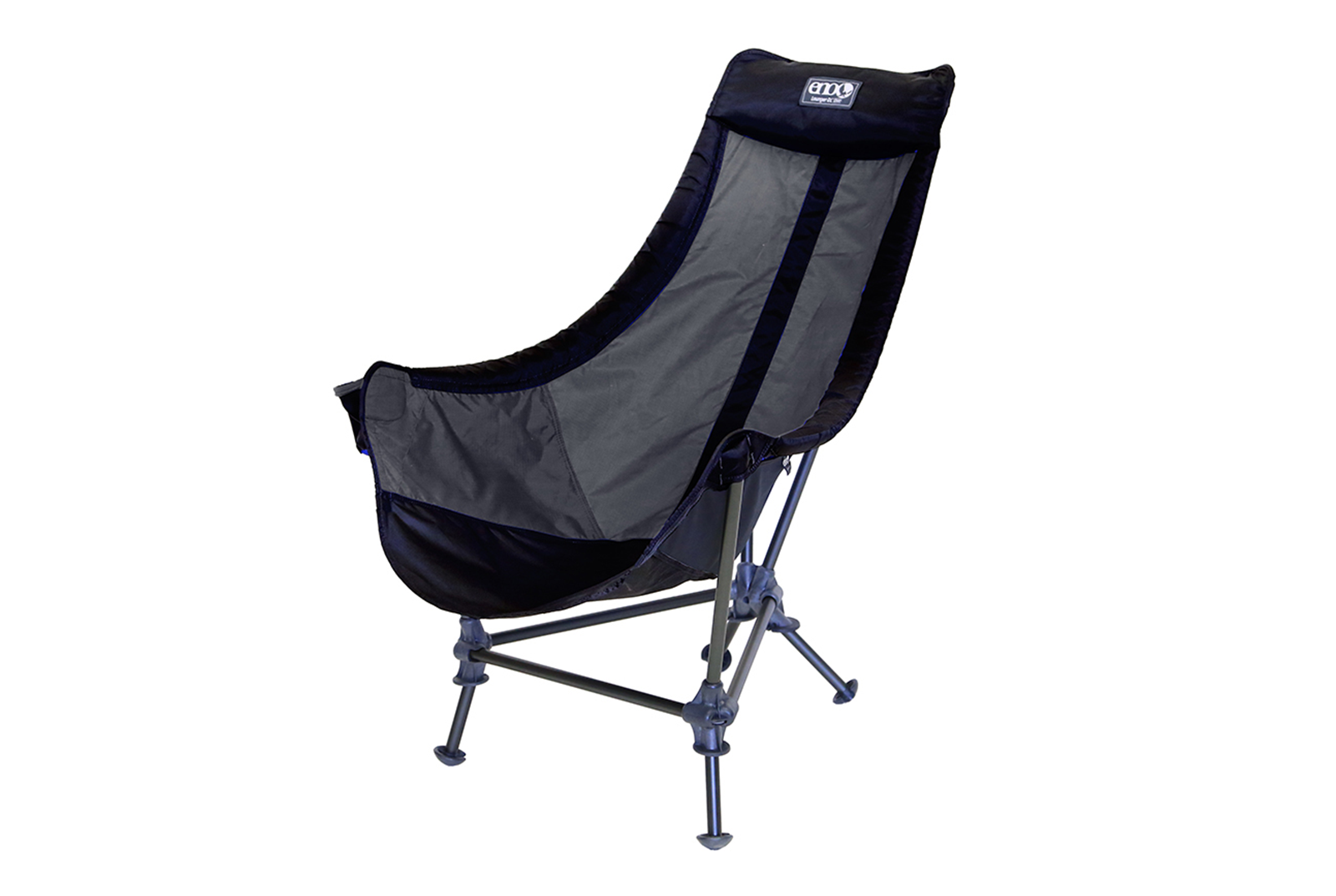 ENO Nation Black/Charcoal Lounger™ DL Chair - 17552534765717