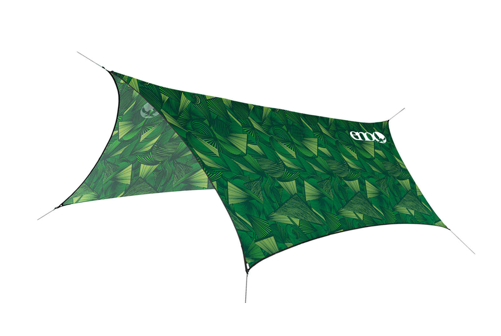 ENO Nation Tribal Green ProFly™ Rain Tarp Prints