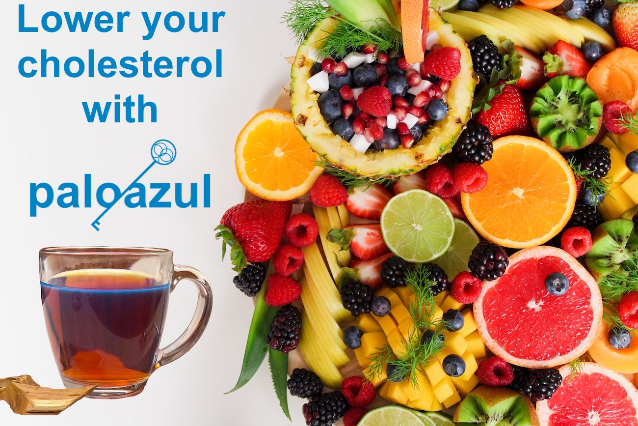 palo azul and fruits lower your cholesterol