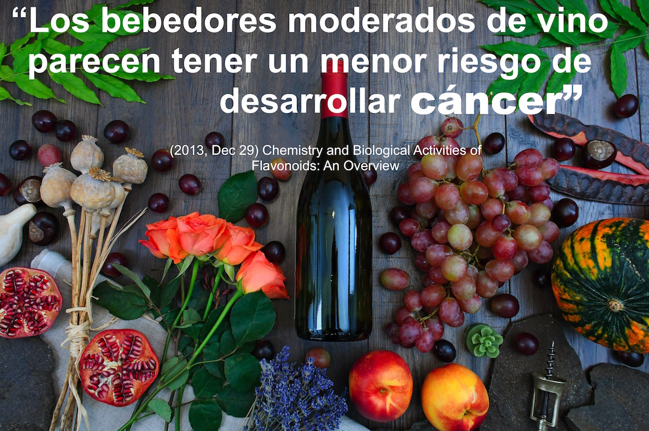 vino vs cancer
