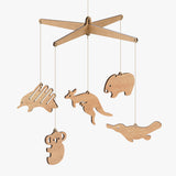 Australian Animal Baby Mobile - Byrne Woodware  - 1
