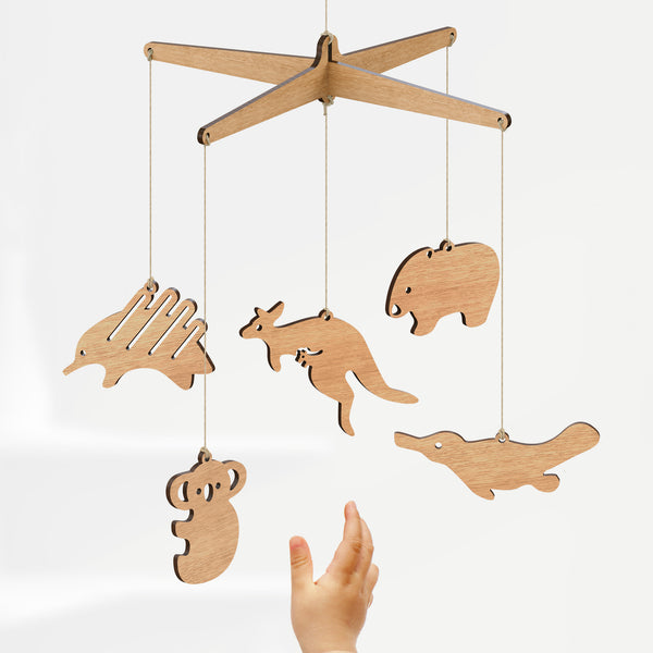 Australian Animal Baby Mobile - Byrne Woodware  - 2