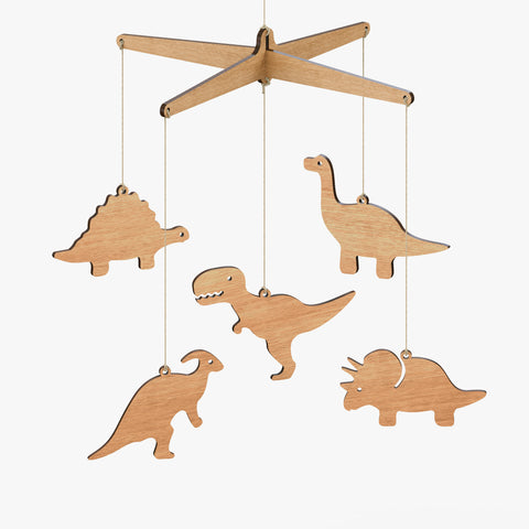 Dinosaur Baby Mobile - Byrne Woodware  - 1