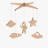 Space Baby Mobile - Byrne Woodware  - 1