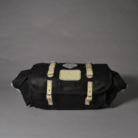CARRADICE BARLEY SADDLEBAG - BLACK