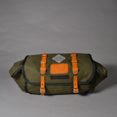 CARRADICE BARLEY SADDLEBAG - OLIVE