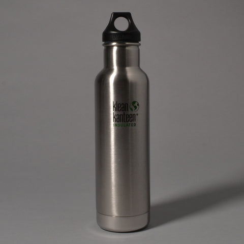 KLEAN KANTEEN CLASSIC INSULATED 592ML BOTTLE - BRUSHED STAINLESS