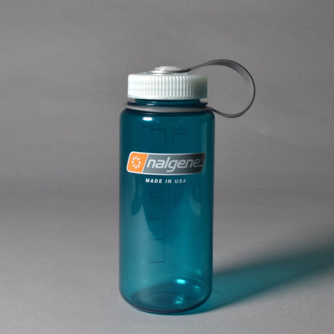 NALGENE TRITAN WIDE MOUTH 500ML BOTTLE - BLUE