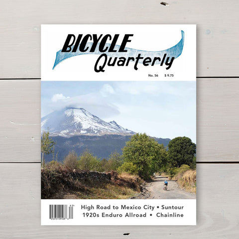 BICYCLE QUARTERLY SUMMER 2016