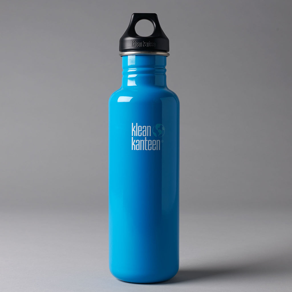 KLEAN KANTEEN CLASSIC 800ML WATER BOTTLE - BLUE