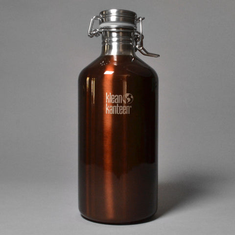 KLEAN KANTEEN 1900ML GROWLER - DARK AMBER