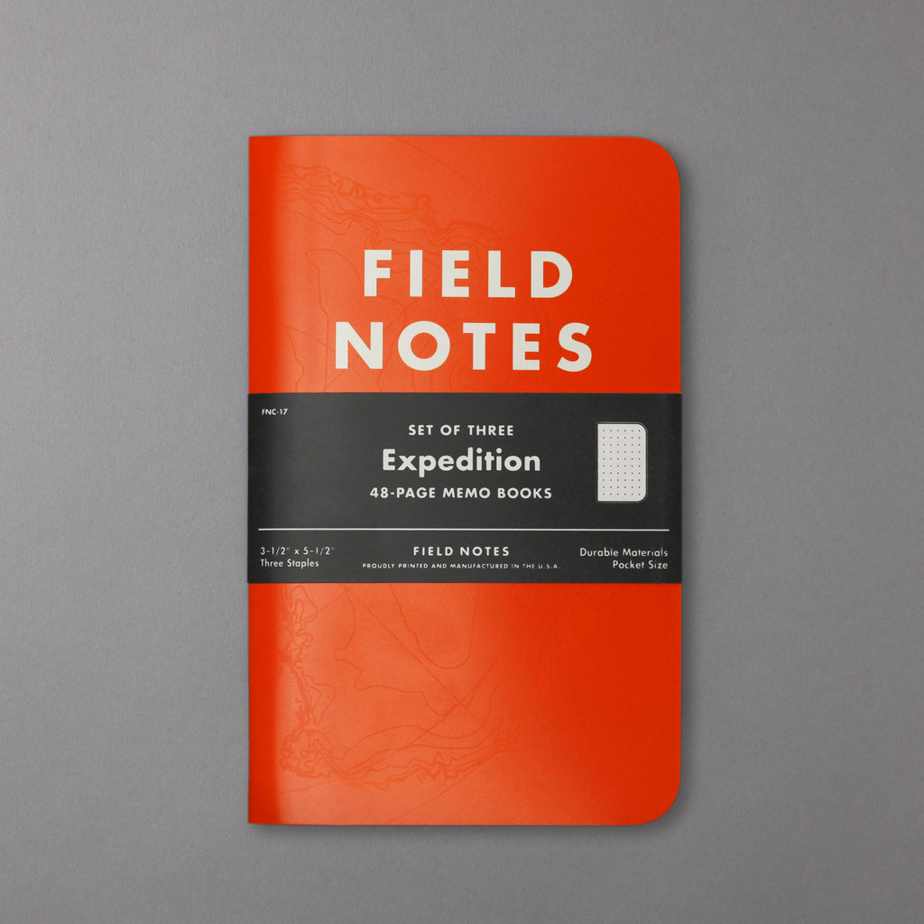FIELD NOTES - EXPEDITION DOT GRID EDITION 3-PACK