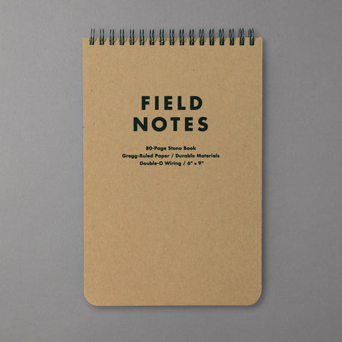 FIELD NOTES - STENO RULED NOTEPAD