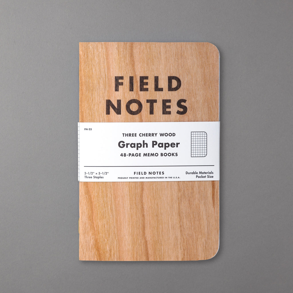 FIELD NOTES - CHERRY GRAPH EDITION 3-PACK