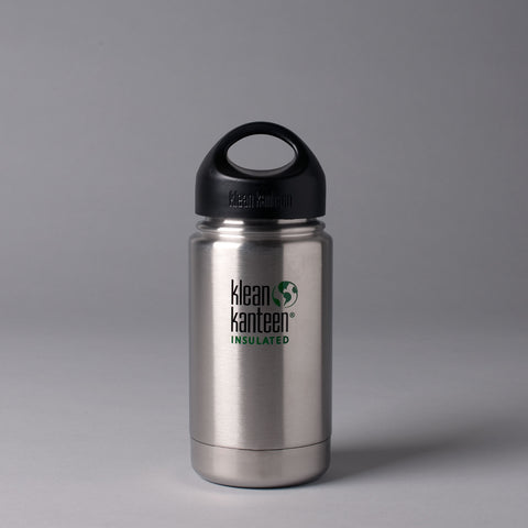KLEAN KANTEEN INSULATED 355ML FLASK - BRUSHED STAINLESS