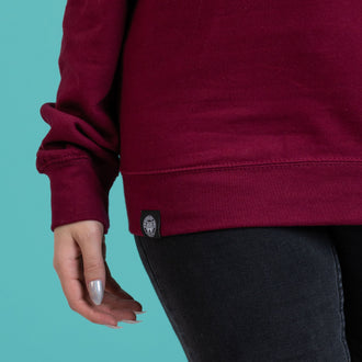 Duelling Club Burgundy Sweater