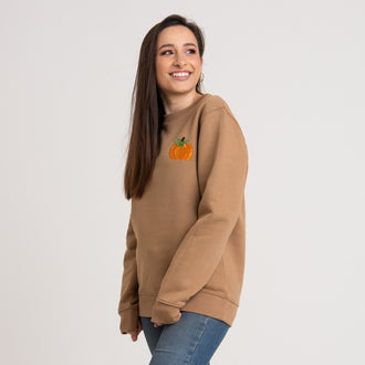 Cute Pumpkin Camel Sweatshirt